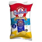 Seabrook Crinkle Crisps Variety Pack 6 x 25g