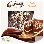 Galaxy Cake Triple Chocolate