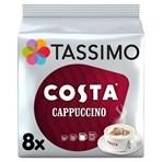 Tassimo Costa Cappuccino Coffee Pods x8