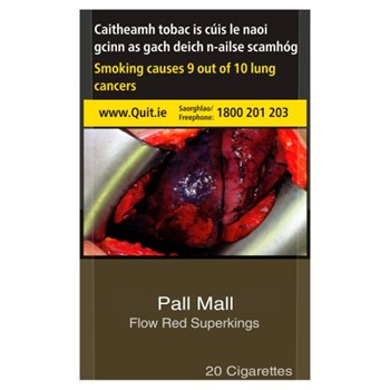 Pall Mall Flow Red Superkings 20 Cigarettes