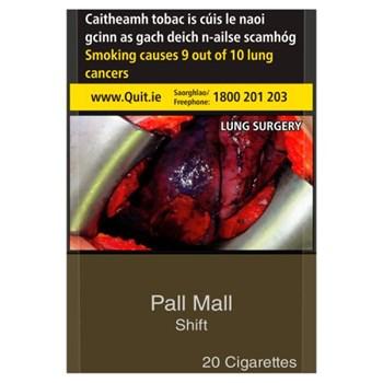 Pall Mall Shift KS 20 Cigarettes