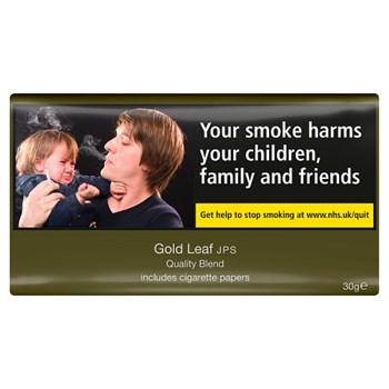 Gold Leaf JPS Quality Blend Includes Cigarette Papers 30g