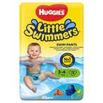 Huggies® Little Swimmers® Swim Pants Size 3-4 7kg-15kg, 15lb-34lb 12 Pants