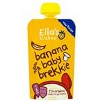 Ella's Kitchen Organic Banana Baby Brekkie Pouch 6+ Months 100g