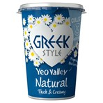 Yeo Valley Organic Greek Style Natural 450g