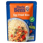 Uncle Bens Egg Fried Microwave Rice 250g
