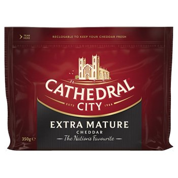 Cathedral City Extra Mature Cheddar 350g