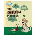 Good Boy 100 Degradable Antibacterial Poo Bags