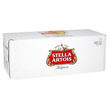 Stella Artois Lager Beer Cans 18 x 440ml