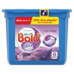 Bold All-in-1 Pods Washing Liquid Capsules Lavender & Camomile 25 Washes