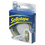 Sellotape Super Clear Sticky Tape - 1 Roll 24mmx5m