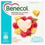 Benecol Raspberry & Peach Yogurts 4 x 120g (480g)