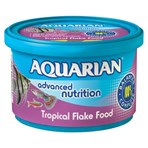 Aquarian Tropical Fish Food Flakes 50g