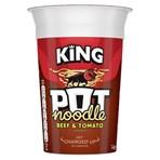 Pot Noodle Beef & Tomato King Pot 114 gr