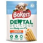 BAKERS Dental Delicious Med Dog Treat Chicken 200g