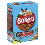BAKERS ADULT Small Dog Beef with Vegetables Dry Dog Food 1.1kg