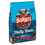 BAKERS Meaty Meals Adult Beef Dry Dog Food 2.7kg
