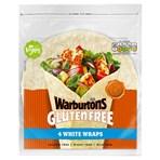 Warburtons 4 Gluten Free White Wraps