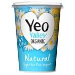 Yeo Valley Organic 0% Fat Natural Light Bio Live Yogurt 500g