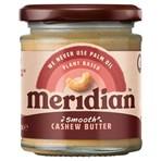 Meridian Smooth Cashew Butter 170g Jar