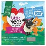 Little Yeos Organic Fruity Favourites Yogurt 4 x 90g (360g)