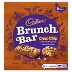 Cadbury Brunch Bar Choc Chip 6 Pack 192g