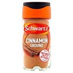 Schwartz Ground Cinnamon 39g Jar