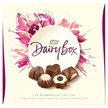 Dairy Box Milk Chocolate Assortment Box 180g