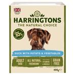 Harringtons Duck & Veg Adult Wet Dog Food 400g