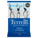 Tyrrells Lightly Sea Salted Sharing Crisps 150g