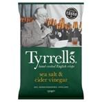 Tyrrells Sea Salt & Cider Vinegar Sharing Crisps 150g