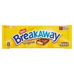 Breakaway Milk Chocolate Biscuit Bar Multipack 8 Pack