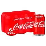 Coca-Cola Original Taste 6 x 330ml