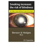 Benson & Hedges Blue 20 Cigarettes