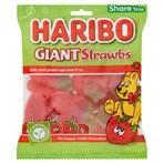 HARIBO Giant Strawbs Bag 175g