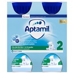 Aptamil 2 Follow On Baby Milk Formula Multipack 4 x 200ml