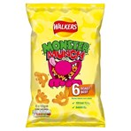 Walkers Monster Munch Roast Beef Multipack Snacks 6x22g