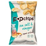 Popchips Sea Salt & Vinegar Sharing Crisps 85g