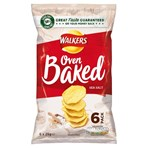 Walkers Baked Sea Salt Multipack Snacks 6x25g
