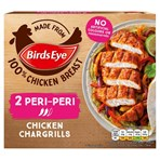 Birds Eye 2 Peri-Peri Chicken Chargrills 174g