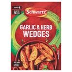 Schwartz Garlic & Herb Wedges 38g