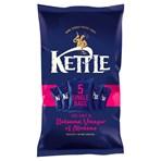 KETTLE® Chips Sea Salt & Balsamic Vinegar of Modena Multipack 5 x 30g (150g)