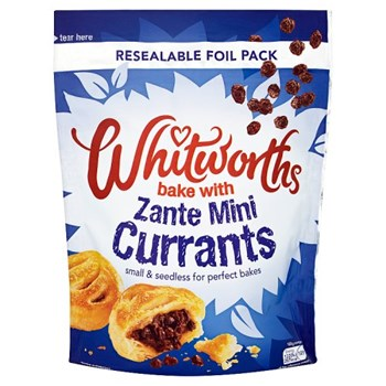 Whitworths Bake with Zante Mini Currants 350g