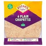 Patak's The Original 6 Plain Chapattis 360g