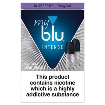 blu® myblu® Intense Liquidpod Blueberry 18mg/ml 2 x 1.5ml