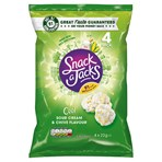 Snack a Jacks Sour Cream & Chive Multipack Rice Cakes 4x22g
