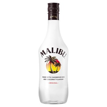 Malibu Original White Rum with Coconut Flavour 70cl