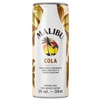 Malibu Cola Sparkling Pre-Mixed Drink 250ml