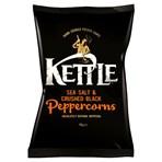 KETTLE® Chips Sea Salt & Crushed Black Peppercorns 150g