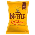 KETTLE® Chips Mature Cheddar & Red Onion 150g